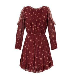 Joie red Arleth Dress size m